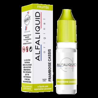 E-liquide Alfaliquid FRAMBOISE CASSIS